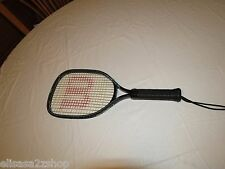 Wilson racquetball racket Graphite Boss 3 7/8 sports great used condition strap