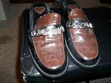 LADIES SIZE 7 1/2  SHOES SLIP ON SHOES SLIDE ON SHOES BUCKLE
