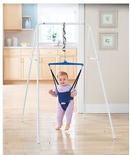 Jolly Jumper Port-a-Stand Pre-Walker Child Baby Exerciser on a Steel Stand 96770