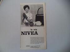 advertising Pubblicità 1962 CREMA NIVEA