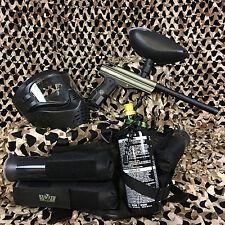 NEW Kingman Spyder Victor EPIC Paintball Marker Gun Package Kit - Olive Green