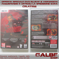 SHADOW WARRIOR - PC GAME DVD ROM NUOVO SIGILLATO