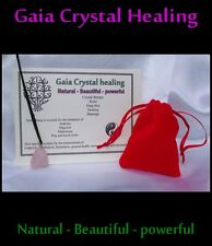 beautiful rose quartz healing necklace love health slows the signs of aging