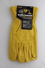 New Wells Lamont Premium Leather Work Gloves Men's Size Extra Large