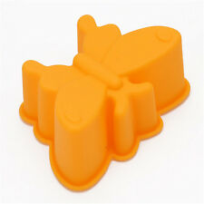 Silicone Butterfly Shape Muffin Cupcase Cake Jelly Pudding Moulds Baking Tool