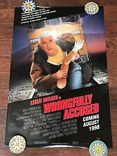 WRONGFULLY ACCUSED DS MOVIE POSTER ONE SHEET NEW AUTHENTIC