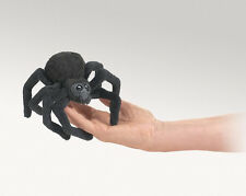 SPIDER Finger Puppet # 2754 ~ Free Shipping in USA ~ Folkmanis Puppets