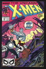 Uncanny X-Men (1963) #248 1st Prt Signed by Jim Lee & Chris Claremont no COA VF+