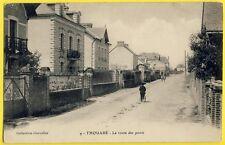 cpa 44 - THOUARÉ sur LOIRE La Route des PONTS Villa Bagatelle Coll. CHEVALIER