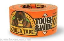 27m Gorilla TOUGH & WIDE Tape, 73mm extra wide strong Duct tape Tough and Wide
