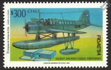 VOUGHT SIKORSKY OS2U-3 KINGFISHER Floatplane/Seaplane Aircraft Stamp 1994 Chile