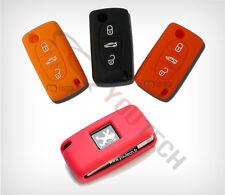 Housse silicone Clé Plip Télécommande Peugeot 107 206 207 307 308 406 407 408