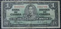 BANK OF CANADA 1937 - $1 NOTE - Prefix N/N - Signed Coyne & Towers - NCC