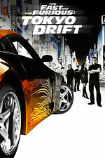 The Fast and the Furious: Tokyo Drift Movie Poster Silk 60x90cm Print Decor 15