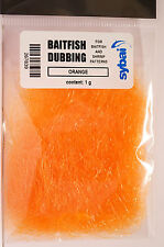 BAITFISH Dubbing Sybai langfaserig ORANGE