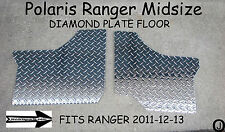 POLARIS RANGER MID-SIZE 400-500-800 DIAMOND PLATE FLOOR BOARDS 2011-13