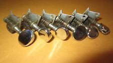 Vintage Circa 1970's Stratocaster Style Open Back Tuners Tuning Machines Chrome