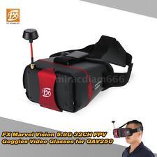 """Original FX Marvel Vision 4.3"""" 5.8G 32CH Auto Search Raceband FPV Goggles E3J5"""
