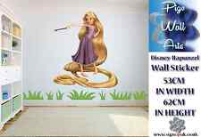 Disney Rapunzel Wall Sticker Children's Bedroom decor large girls WALL DECAL.