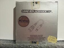 NINTENDO GAMEBOY ADVANCE SP HEADPHONE ADAPTER NEW & OPENED