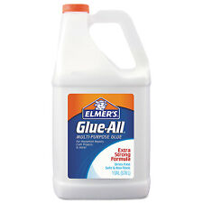 Elmers Glue-All White Glue Repositionable 1 gal E1326