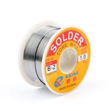 1.0mm 100g 63/37 Tin Estaño Rosin Core Soldar Wire Soldadura Welding Flux 2%.