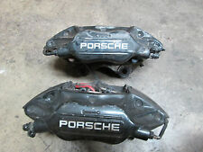 Factory Porsche 964 911 Front Left & Right Brake Calipers Brembo Printed Brakes