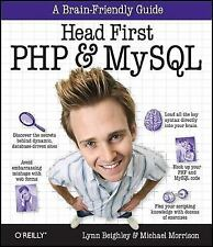 Head First PHP & MySQL, Morrison, Michael, Beighley, Lynn, Good Book
