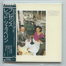 "LED ZEPPELIN ""PRESENCE"" Japan Rare Out Of Print OOP Mini-LP Gatefold CD w/ObiNew"