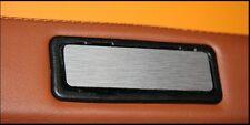 La piastra portacenere del cruscotto Alluminio Spazzolato -Mini Austin Cooper