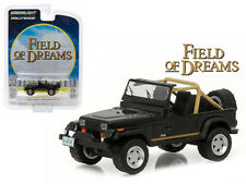 GREENLIGHT 1:64 HOLLYWOOD FIELD OF DREAMS 1987 JEEP WRANGLER YJ Diecast 44740