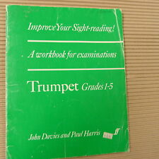 trumpet IMPROVE YOUR SIGHT READING Grades 1-5, John Davies, Paul Harris