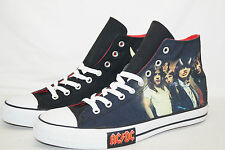 CONVERSE CHUCKS ALL STAR HIGH Gr.45 UK 11 AC/DC HIGHWAY TO HELL 111073 von 2008