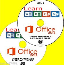 Aprenda Microsoft Office 2013 eficaz Video Tutoriales Nuevo 2 pcdvd Word Excel Etc
