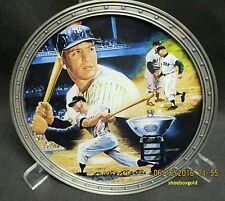 MICKEY MANTLE, Collector Plate titled A Triple Crown Season, New York Yankees