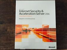 Microsoft Internet Security & Acceleration Server 2006 Std /  Retail Vollversion