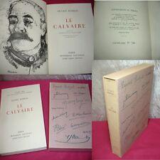 LE CALVAIRE  Octave Mirbeau  Lithographie originale de André Minaux