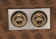 Saudi Arabia Military Police MP dress uniform badge gold in color set lot group