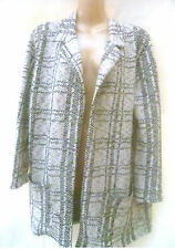 SOUTH CUT AND SEW CHECK JACKET SIZE 16
