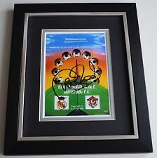 Phil Neal SIGNED 10x8 FRAMED Photo Autograph Display Liverpool Football COA