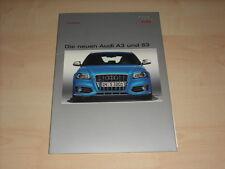 55865) Audi A3 + S3 Pressemappe 04/2008