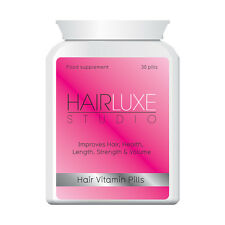 HAIR LUXE HAIR STUDIO HAIR VITAMIN PILLS - FAST HAIR GROWTH LONG THICK SHINY