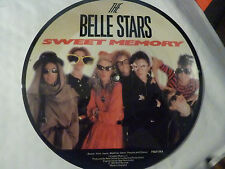 "The Belle Stars ‎– Sweet Memory / April Foo , 7"" vinyl picture disc,"