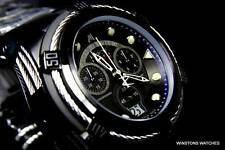 Invicta Reserve Jason Taylor JT Bolt Zeus Black Swiss Chronograph Watch LE New