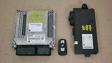 BMW 1 3 Series E81 E87N LCI E90 N45N ECU KIT DDE+CAS3+KEY control unit 7567321