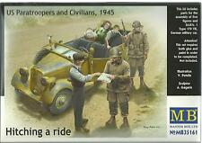 MB WWII Sd.Kfz.1 type 170 German Military Car plus Five Figures 1/35 161 ST