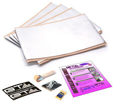 "4-6""x10"" Sheets GTMat Reflex 8mil Aluminum 80 mil Car Auto Sound Deadener Tiles"