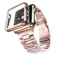 Armband für Apple Watch 38mm 42mm Edelstahl Metall Strap Band Uhr iWatch NEW
