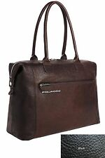 Piquadro Black Up2Date Woman's bag for office/travel BD1682UP/N