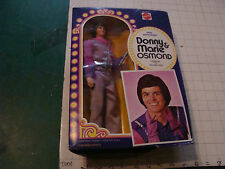 vintage original DOLL DONNY OSMOND from donny & marie UNUSED mattle in box 1976
